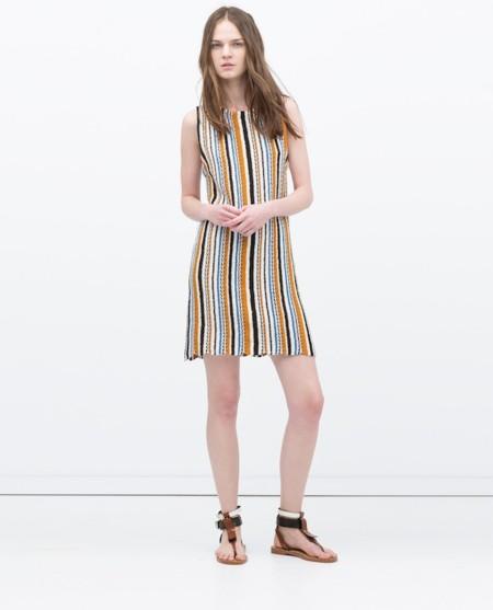 Vestido Punto Zara