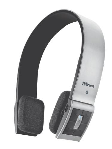 Trust también ofrece auriculares bluetooth