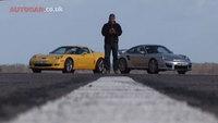 Porsche 911 GT2 vs Chevrolet Corvette Z06, ¿quién ganará?