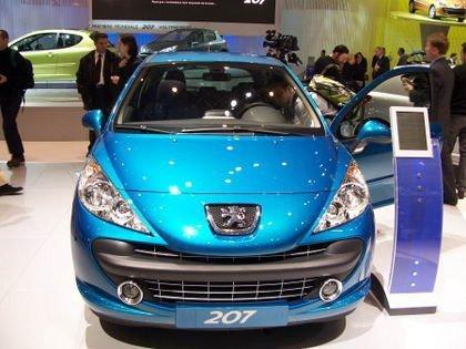 Peugeot 207 en el Salón de Ginebra