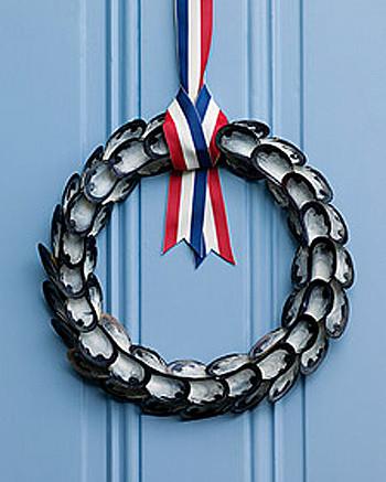 Look marinero: una corona con mejillones