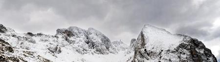 Panorama nieve