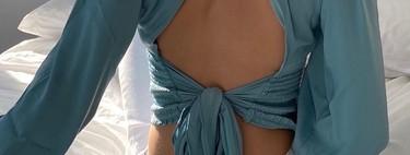 Cinco blusas con lazo atrás que harán de tu espalda el centro de todas las miradas