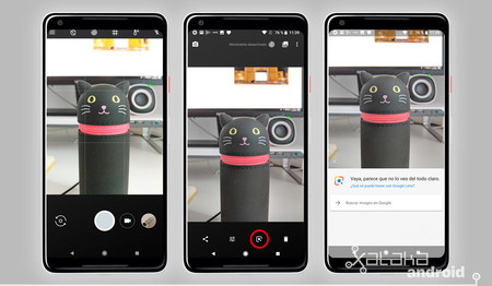 Google Lens Android Fotos