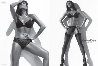 Nuevas imágenes de Eva Mendes para Calvin Klein