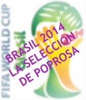 Mundial Brasil 2014: marchando la selección de guapos de Poprosa