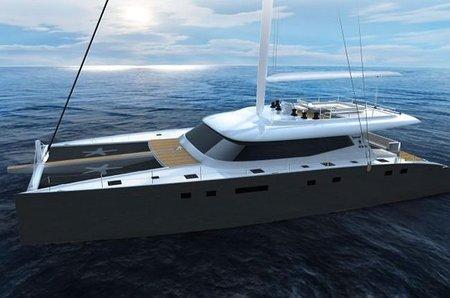 Nuevo catamarán Sunreef 80 de compuestos, ligero y veloz