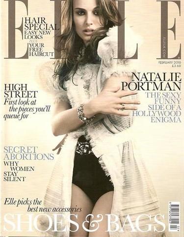 Natalie Portman cambia de estilo para la revista Elle