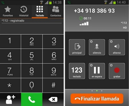 Shoftphone Orange app Android