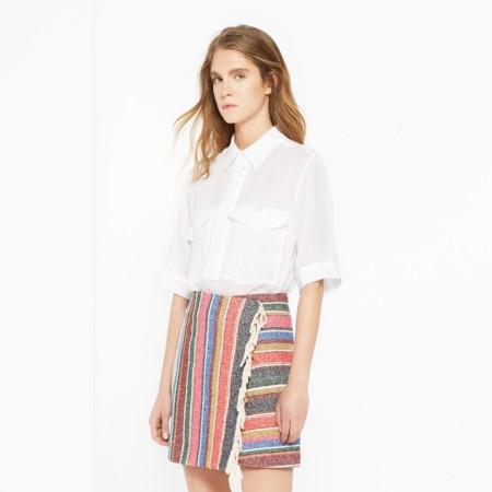 Minifalda De Colores Sandro