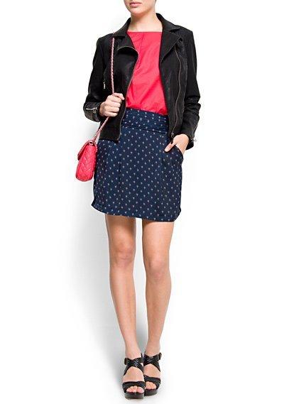 falda mango 19,99