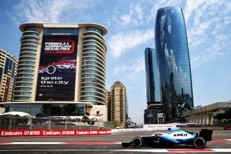 George Russell Baku Formula1 2019