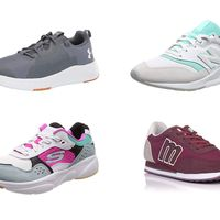 Chollos en tallas sueltas de zapatillas Sketchers, Mustang, New Balance y Under Armour en Amazon