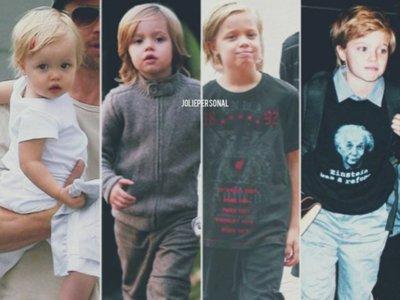 Sólo tiene diez años pero sigue teniendo claro que él es un chico, es John Jolie Pitt