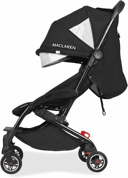 Esta silla de paseo Maclaren es ultracompacta, ligera y además está a precio mínimo hoy