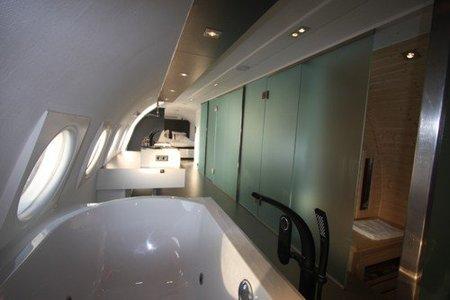 Airplane Suite: una suite en un avión del 1960