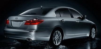 Hyundai Genesis Sedan, la berlina de lujo por debajo de los 30.000$ en Estados Unidos