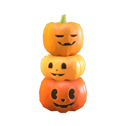 Animal Crossing New Horizons Guide Pumpkins Item Diy Icon Spooky Tower