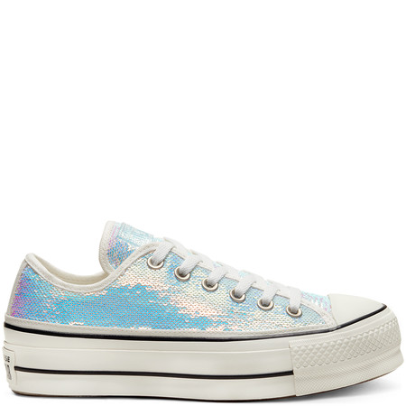 Mini Sequins Chuck Taylor All Star Platform Low Top