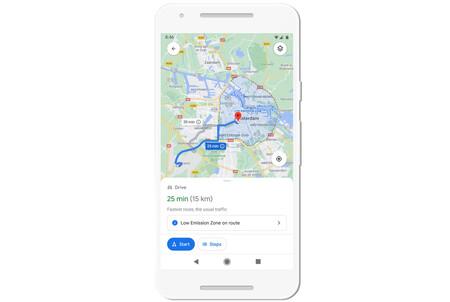 Google Maps Zonas Bajas Emisiones