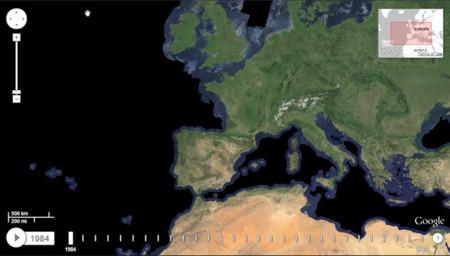 Google muestra la evolución del planeta en un mapa interactivo. La imagen de la semana