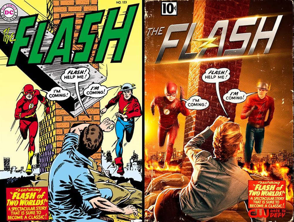 The Flash Worlds