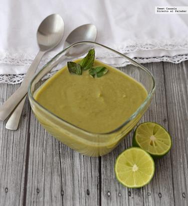 Sopa de alcachofa y espinaca. Receta