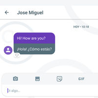 Probamos la traducción de mensajes en Google Allo