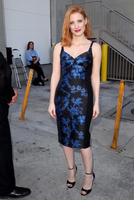Jessica Chastain Con Vestido Stella Mccartney