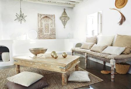 Maisons Du Monde Lienzo Beis Y Blanco 80 X 118 Cm Meknes 1200 13 35 130743 3