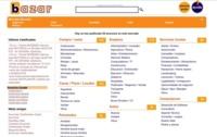 Bazar, nueva página de anuncios clasificados