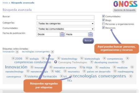 GNOSS, nuevo buscador semántico desarrollado en España