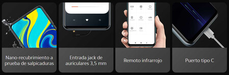 Características del Redmi 9S de Xiaomi en oferta en México