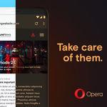 Opera 55 para Android lleva el tema oscuro a la web e incluye el cambio rápido de pestañas, entre otras novedades