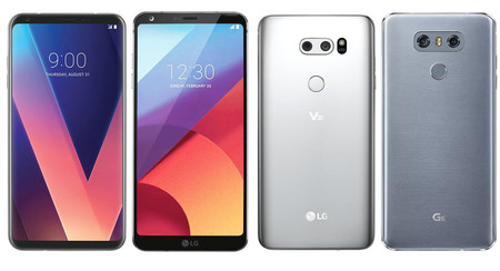 LG V30 vs LG G6: los dos gama alta de LG, cara a cara