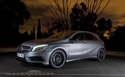 Mercedes-Benz A 45 AMG, prueba (parte 1)