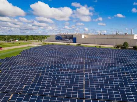 GM promete utilizar sólo energías renovables para el año 2050