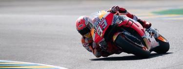 Marc Márquez da una nueva exhibición en Le Mans y se afianza en el liderato del mundial de MotoGP