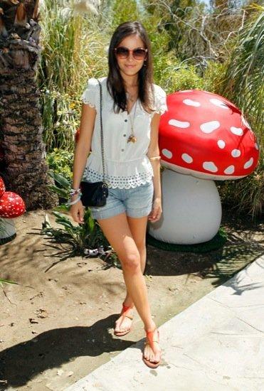 Camilla Belle Coachella look