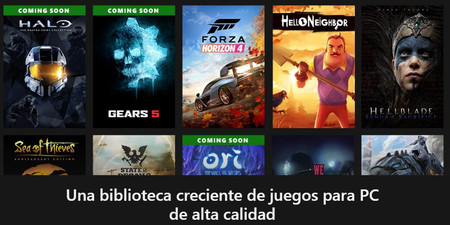 Xbox Game Pass PC Juegos