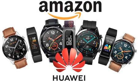Relojes y pulseras deportivos Huawei: Amazon te lo pone fácil para perder algo de peso tras tantos días en casa