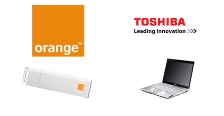 Orange y Toshiba ofrecerán portátiles con conectividad 3G