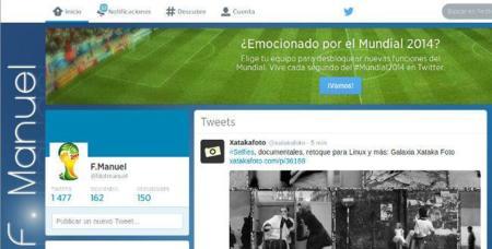 Twitter ha eliminado avatares de usuario con imágenes oficiales de la FIFA