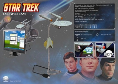 Webcam trekkie de la USS Enterprise