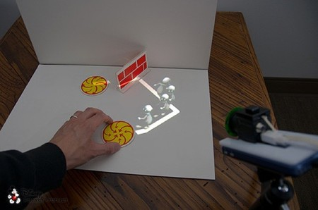 El proyecto de Disney llamado HideOut explora cómo utilizar proyectores móviles de contenidos digitales