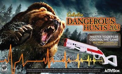 Activision lanzará una nueva pistola junto a su próximo 'Cabela's Dangerous Hunts 2013'