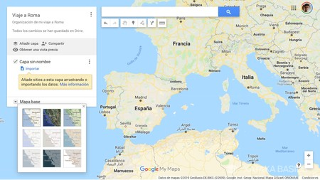 Mapa Listo
