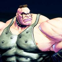 Abigail es el nuevo coloso que se apunta a Street Fighter V,  y usa neumáticos como brazaletes ¡literalmente!