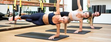 Pilates en suspensión con TRX: qué es, cómo se lleva a cabo y una sesión sencilla para empezar