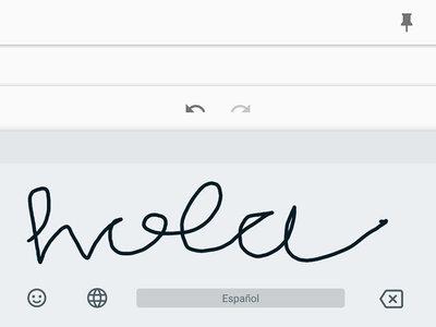 Gboard 6.8 beta añade la escritura a mano: así se activa y usa